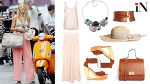 Blake Lively icona di stile, un outfit per l'estate 2014