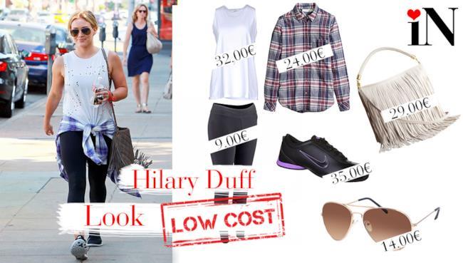 Il look low cost per avere uno stile come Hilary Duff