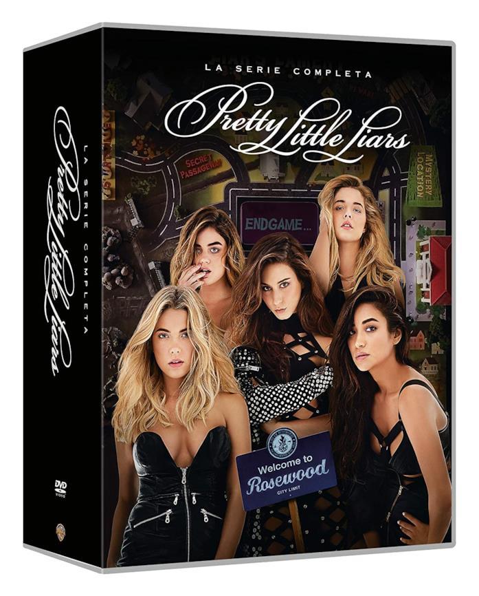 Copertina del cofanetto DVD di Pretty Little Liars