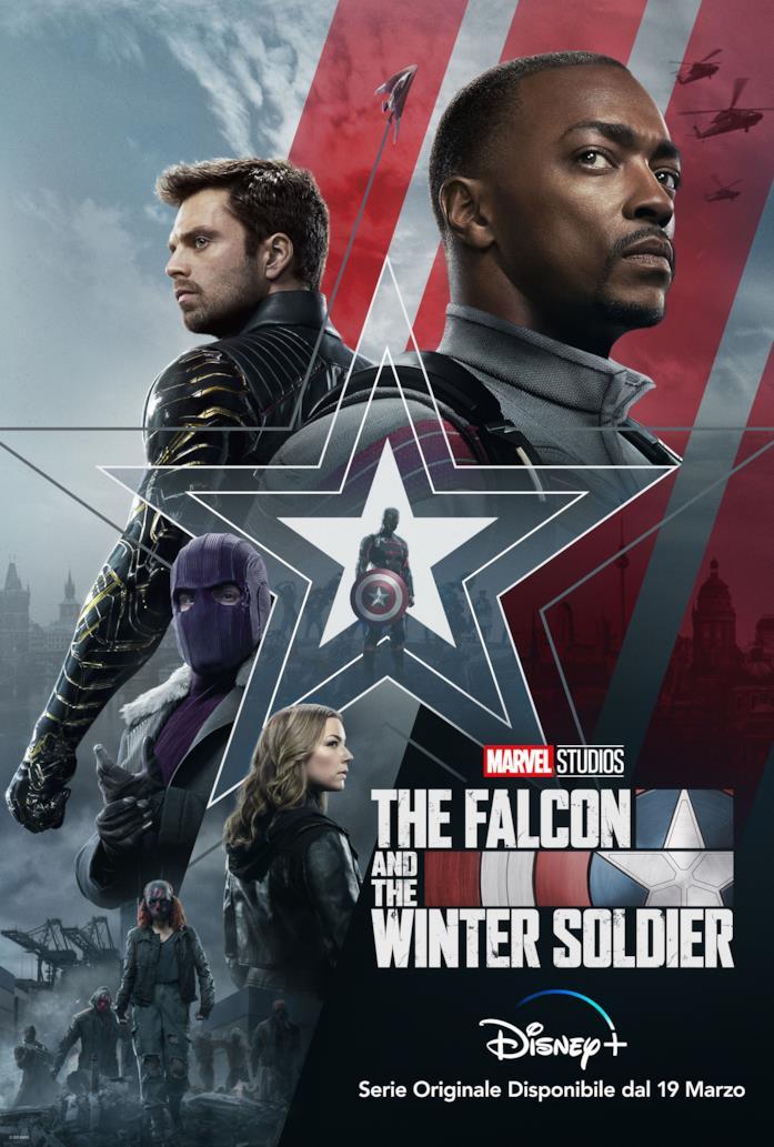 The Falcon and the Winter Soldier debutta il 19 marzo