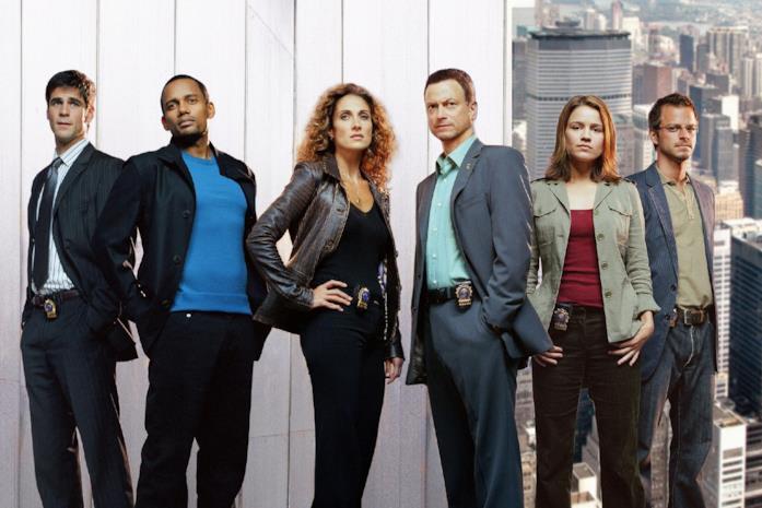 Il team delle prime stagioni di CSI: New York