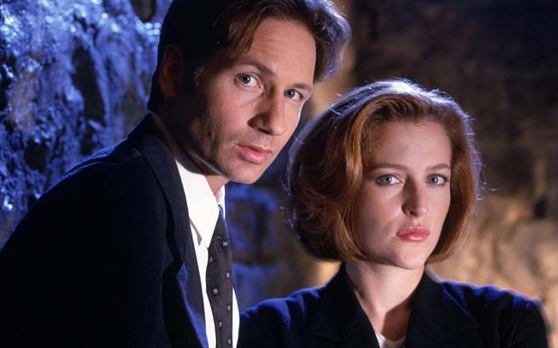 Dana Scully e Fox Mulder di X-Files