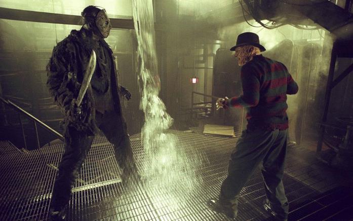 Jason Voorhees contro Freddy Krueger nel film Freddy vs Jason