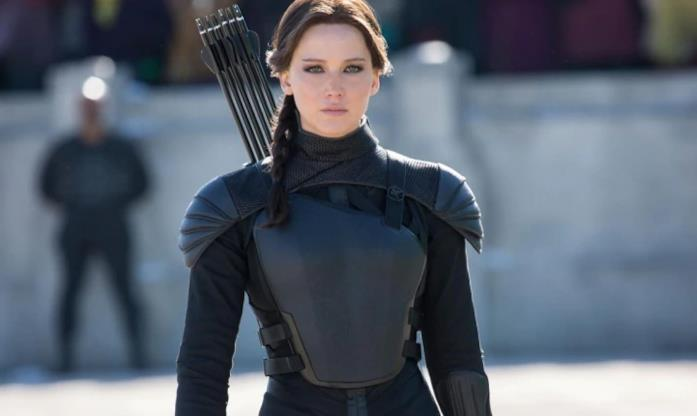 Un'immagine di Katniss Everdeen