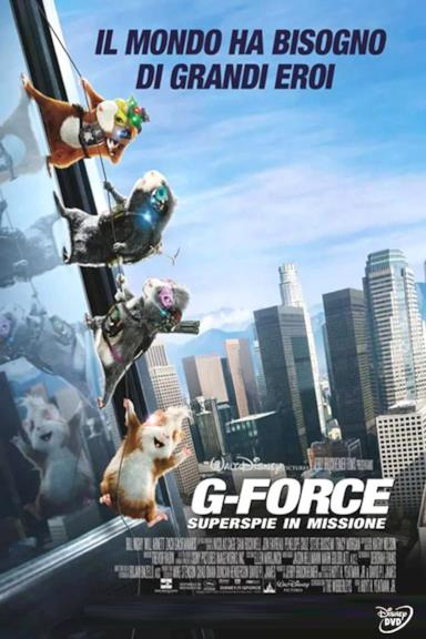 Poster G-Force - Superspie in missione