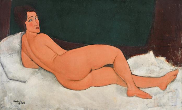 Il dipinto Nu Couché (Sur Le Côté Gauche) di Modigliani è stato venduto per 157,2 milioni di dollari