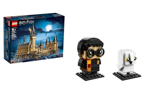 Castello di Hogwarts e BrickHeadz LEGO Harry Potter e Edvige