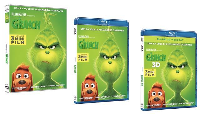 Il Grinch - Home Video - DVD e Blu-ray