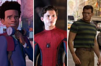 Miles Morales, Peter Parker e Sandman