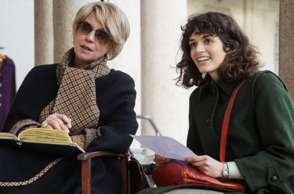 Una scena di Made in Italy con Greta Ferro e Margherita Buy