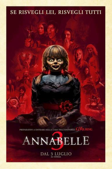Poster Annabelle 3