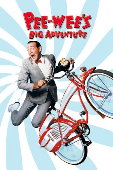 Poster Pee-wee's Big Adventure