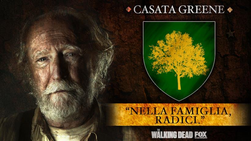 """Casata Greene - """"Nella famiglia, radici."""""""