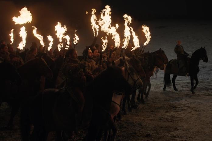 Un frame da Game of Thrones 8x03