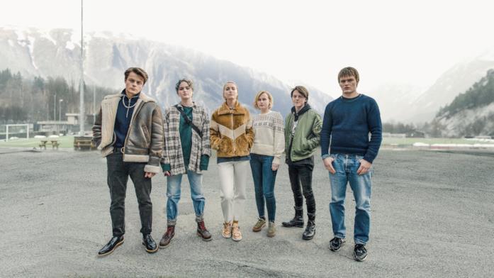 Il cast della serie TV Ragnarok