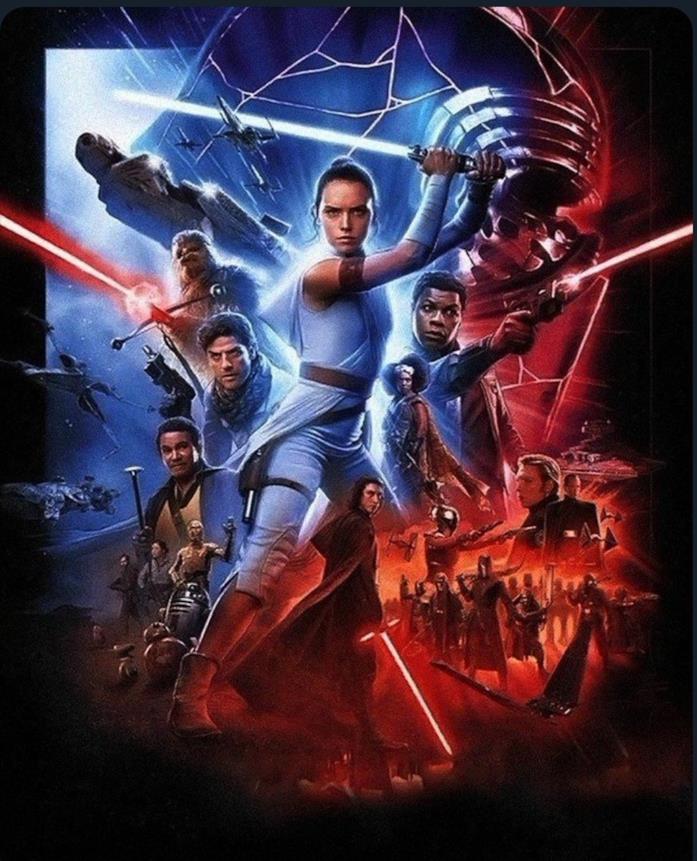 Rey in bella mostra nel poster internazionale di Star Wars: L'ascesa di Skywalker