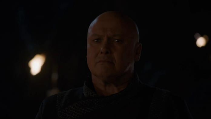 Conleth Hill nei panni di Lord Varys in Game of Thrones