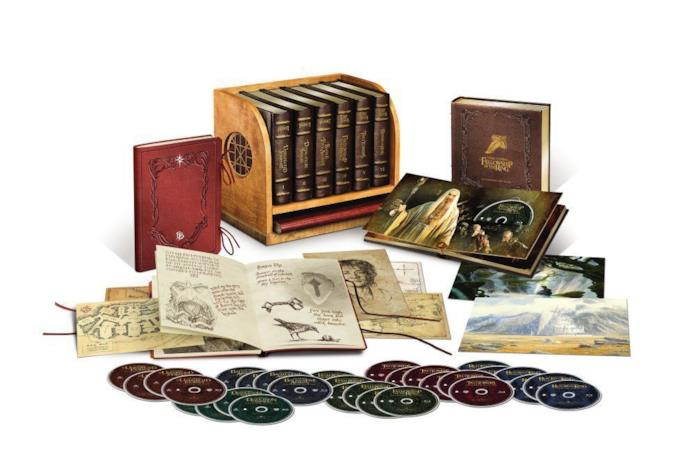 Il cofanetto Middle-Earth Limited Collector's Edition