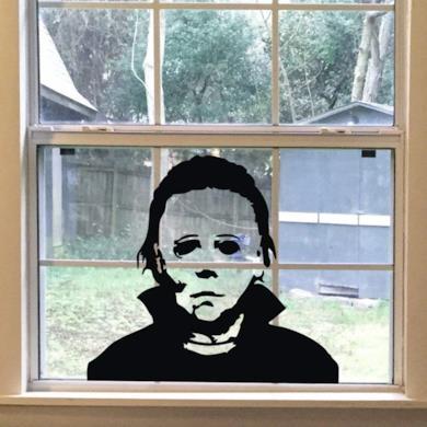 Michael Myers Horror Living Room Sticker