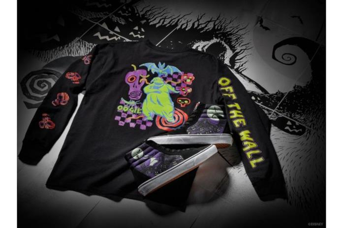 La T-shirt a maniche lunghe Oogie Boogey e le Nightmare Before Christmas Sk8-Hi