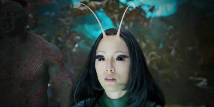 Mantis viene presentata in Guardiani della Galassia Vol. 2