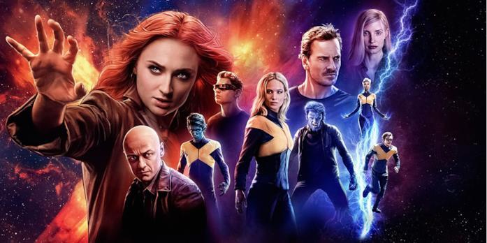 Un poster promozionale di X-Men: Dark Phoenix