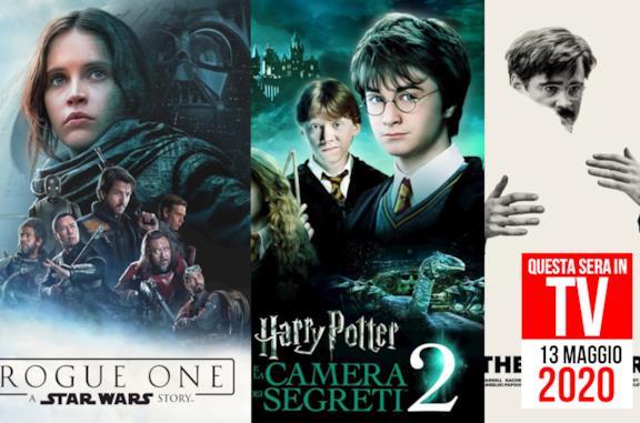 Film in TV stasera: Rogue One e Harry Potter nella serata del 13 maggio