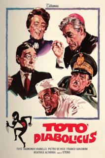 Poster Totò diabolicus