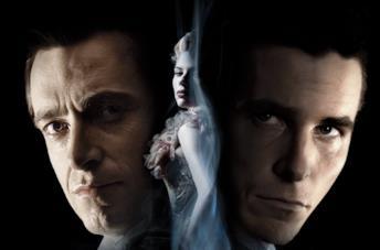 Una scena di The Prestige con Borden