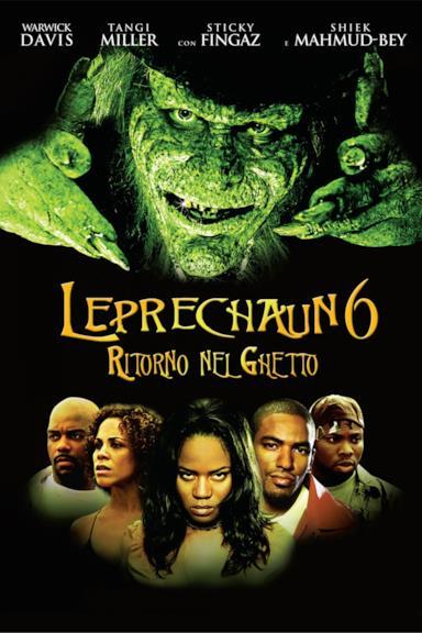 Poster Leprechaun 6 - Ritorno nel ghetto