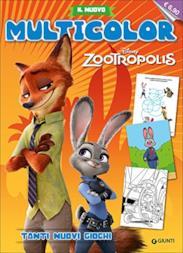 Zootropolis. Il nuovo multicolor. Ediz. illustrata