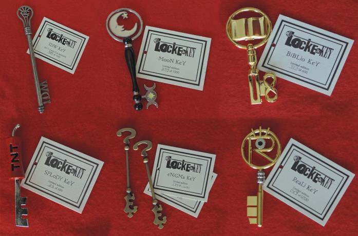 Le chiavi più rare di Locke & Key