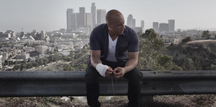 L'attore Vin Diesel