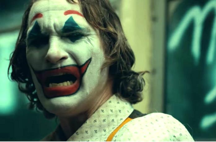 Un'immagine di Joaquin Phoenix come Joker