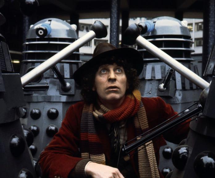 Tom Baker è il Quarto Dottore