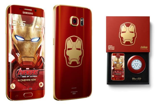 Il telefono Samsung modellato secondo Iron Man