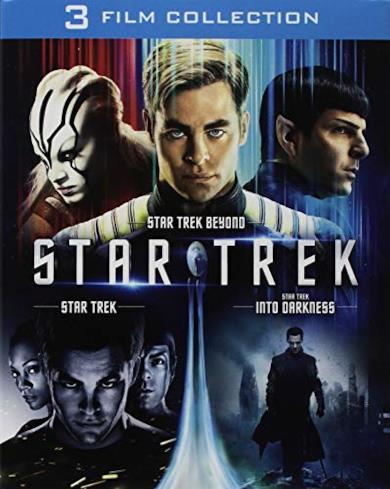 Cofanetto Blu-ray di Star Trek - Film 1-3