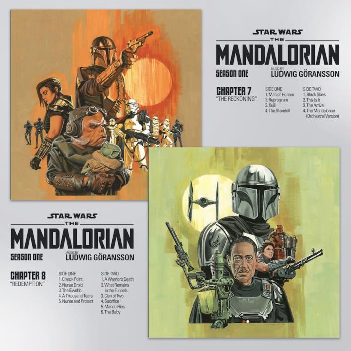 Le cover dei capitoli 7 e 8