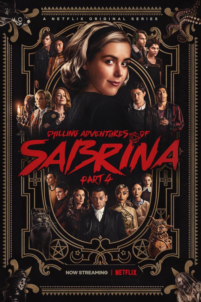 Le terrificanti avventure di Sabrina, il poster della quarta parte