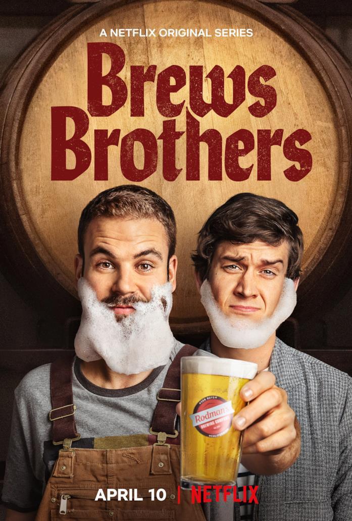 Il poster ufficiale di Brews Brothers