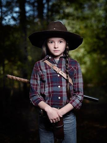 Judith Grimes: il suo poster della stagione 9 di The Walking Dead