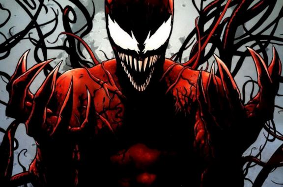 Un'immagine di Carnage dai fumetti Marvel