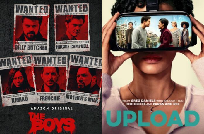 I poster di The Boys e Upload
