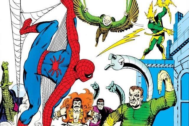 Dettaglio della cover di Amazing Spider-Man Annual #1