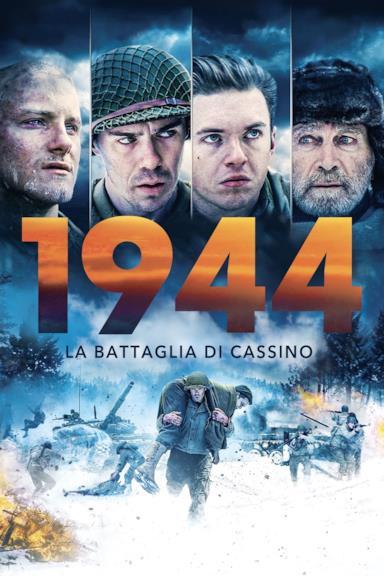 Poster 1944 - La battaglia di Cassino