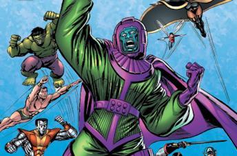 Dettaglio della cover di Avengers: The Once And Future Kang