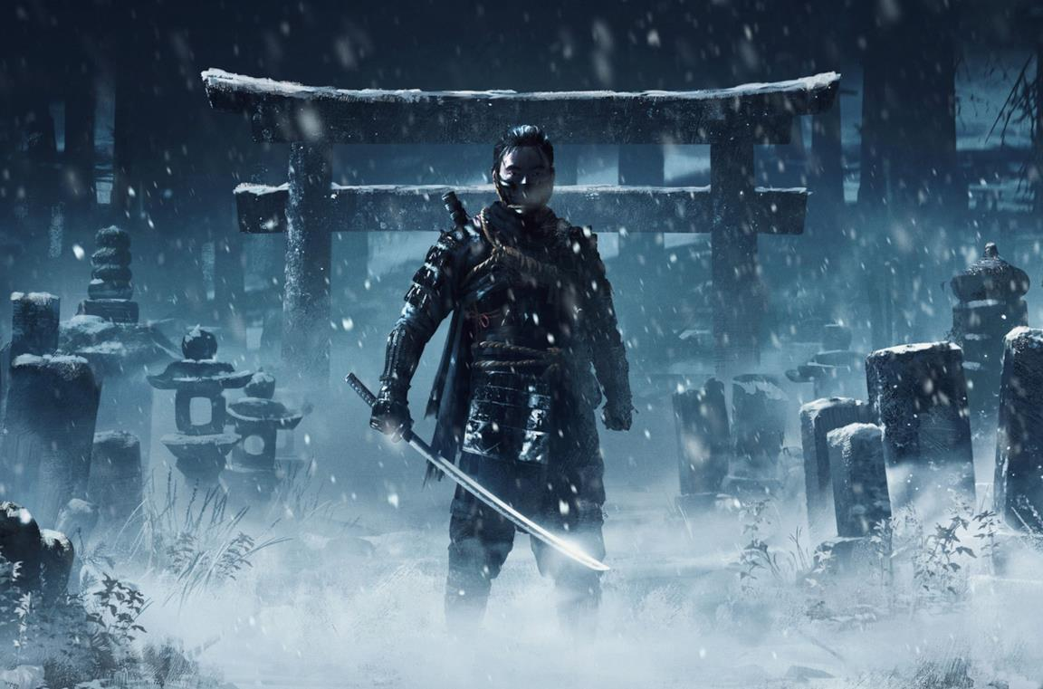 Ghost of Tsushima cover