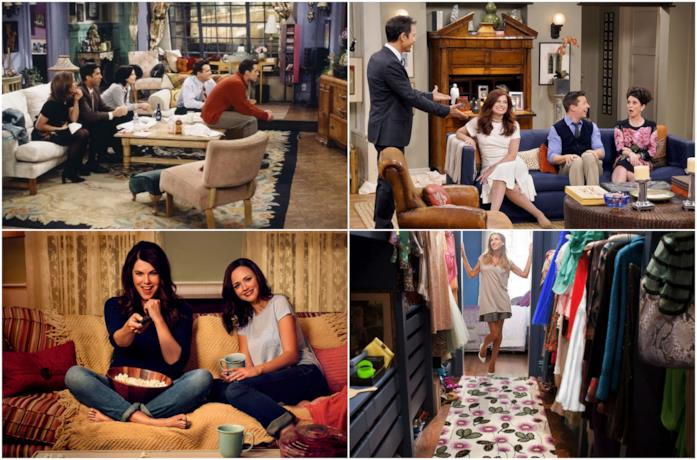 Il cast di Friends, Will & Grace, Gilmore Girls e Sex and the City