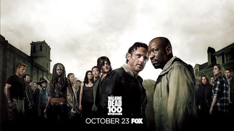 Poster episodio 100 di The Walking Dead: stagione 6
