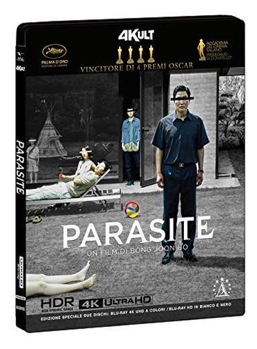 Parasite 4Kult Ltd (Bd 4K Uhd Theatrical + Bd Hd Black & White Ov Sub Ita) + Card Numerata (2 Blu Ray)